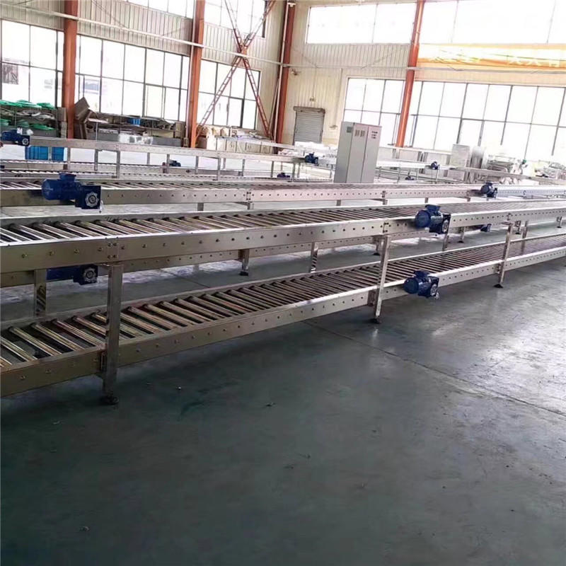 JNDWATER Bottle Roller Conveyor