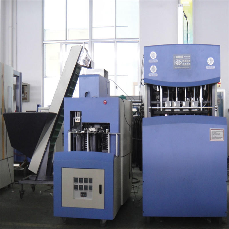 JNDWATER Semi-auto Reheat Stretch Blow Moulding Machine For 4 Cavities