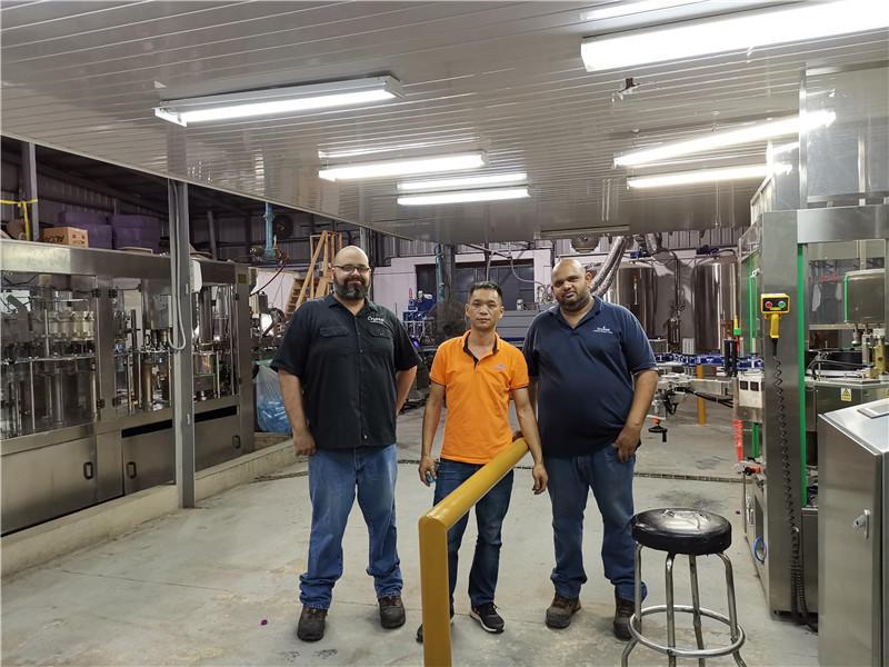 ShenZhen J&D Drinking Water Equipment Co.,Ltd.'s Trinidad and Tobago equipment installation